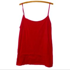 Faded Glory Red Camisole Tank Top
